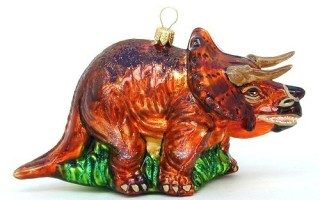 Dinosaur Christmas Tree Ornaments