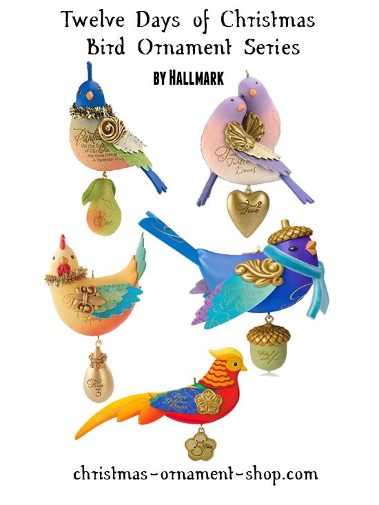 Hallmark Twelve Days of Christmas bird series