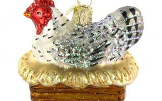 Farm Animal Christmas Ornaments