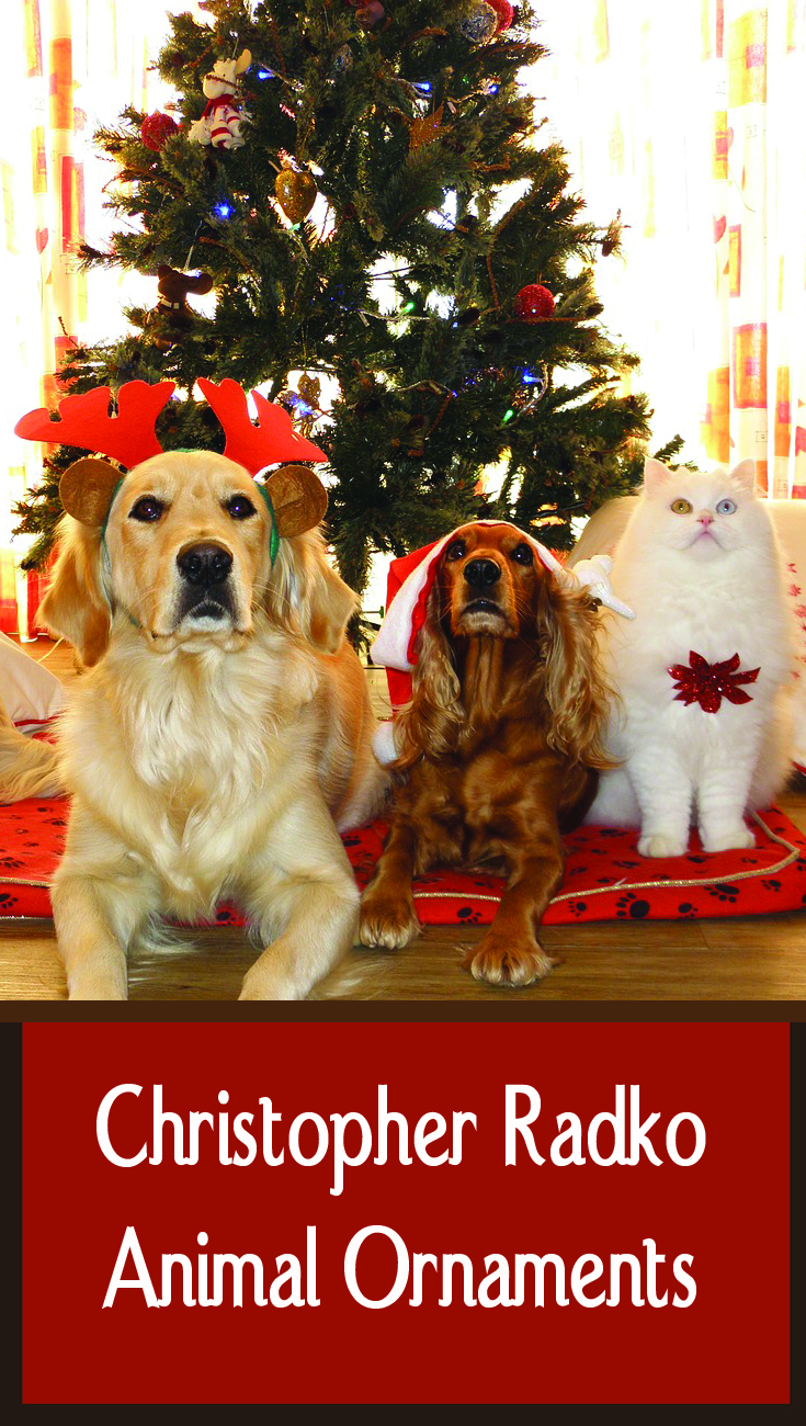 Christopher Radko Animal Ornaments