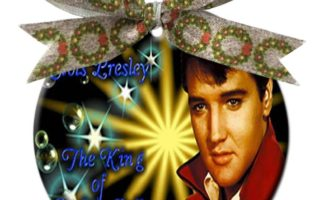 Elvis Presley Christmas Ornaments