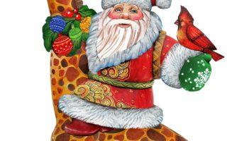 Giraffe Christmas Tree Ornaments