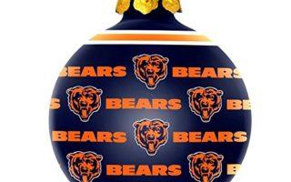 Chicago Bears Christmas Tree Ornaments