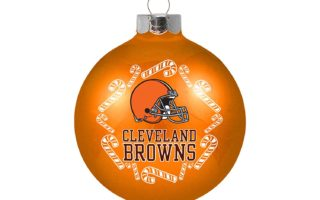 Cleveland Browns Christmas Tree Ornaments