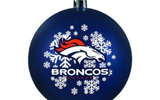 Denver Broncos Christmas Tree Ornaments