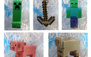 Minecraft Christmas Tree Ornaments