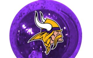 Minnesota Vikings Christmas Tree Ornaments