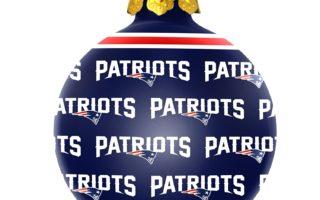 New England Patriots Christmas Tree Ornaments