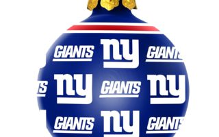 New York Giants Christmas Tree Ornaments