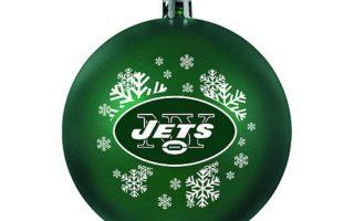 New York Jets Christmas Tree Ornaments