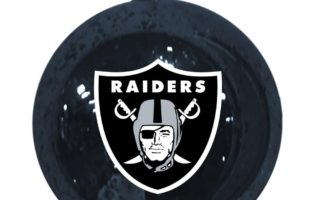 Oakland Raiders Christmas Tree Ornaments