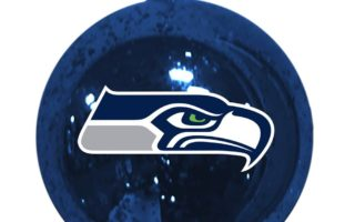 Seattle Seahawks Christmas Tree Ornaments
