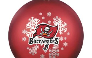 Tampa Bay Buccaneers Christmas Tree Ornaments