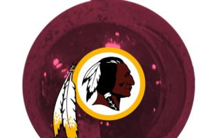 Washington Redskins Christmas Tree Ornaments
