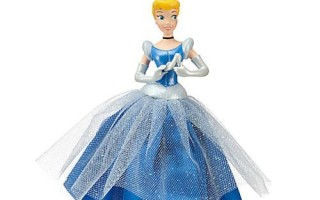 Cinderella Christmas Ornament