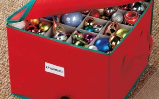 Christmas Ornament Storage Boxes