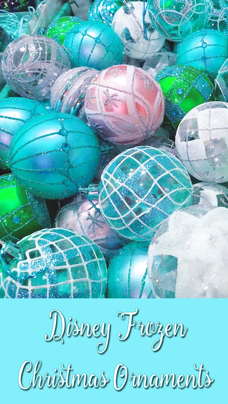 Disney Frozen Christmas Ornaments