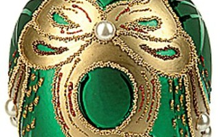 Faberge Style Christmas Ornaments
