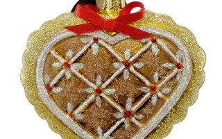 Christopher Radko Gingerbread Ornaments