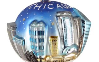 City of Chicago Christmas Ornaments