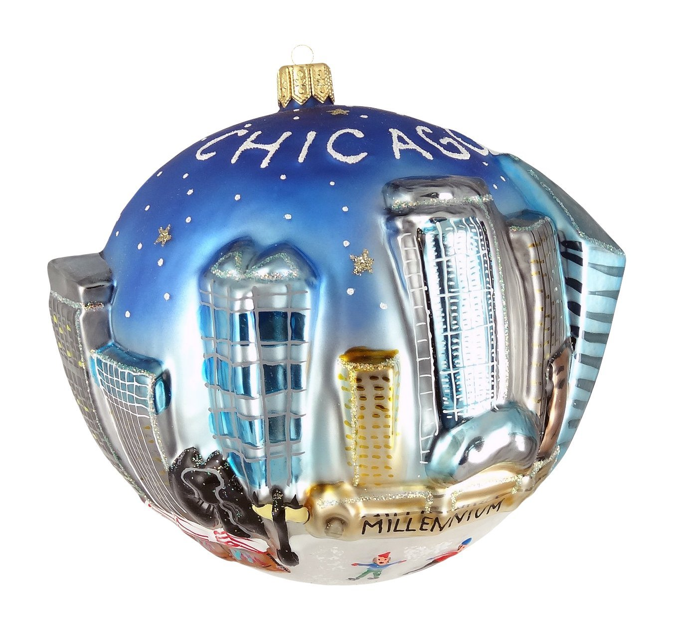 City of Chicago Christmas Ornaments - Christmas Ornament Shop