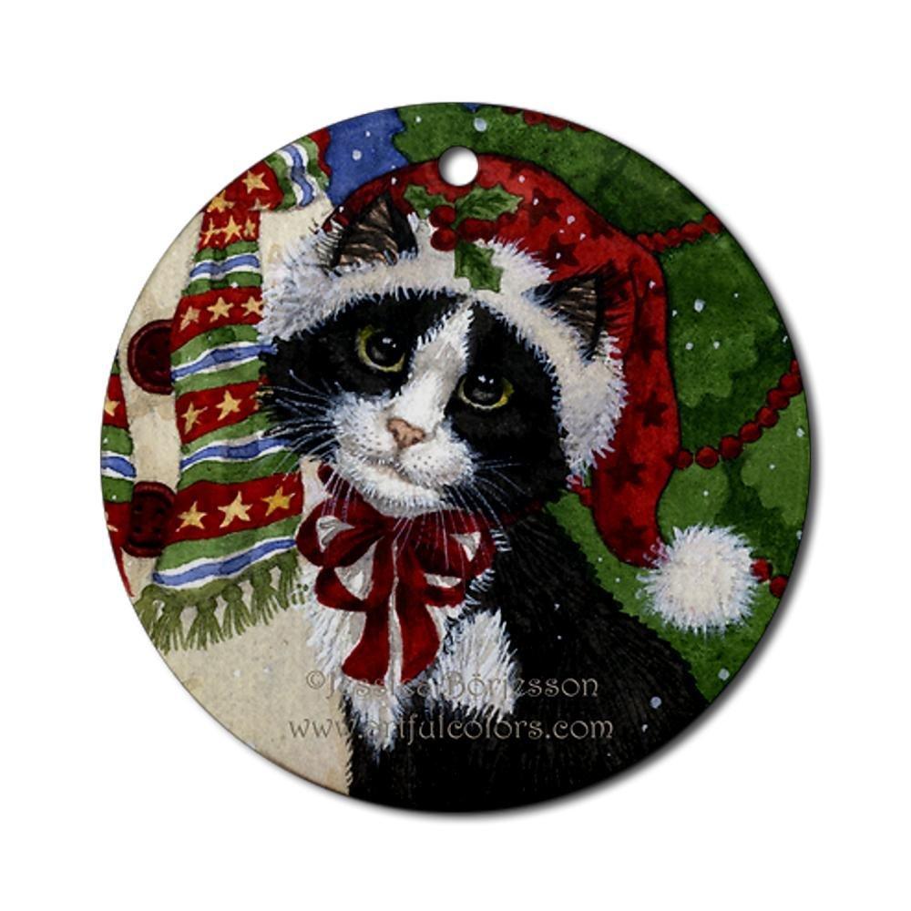 Beach themed christmas tree ornaments christmas ornament for Cat christmas ornaments craft
