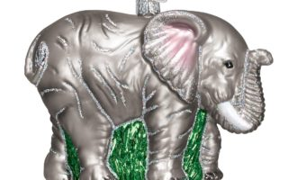 Elephant Christmas Tree Ornaments