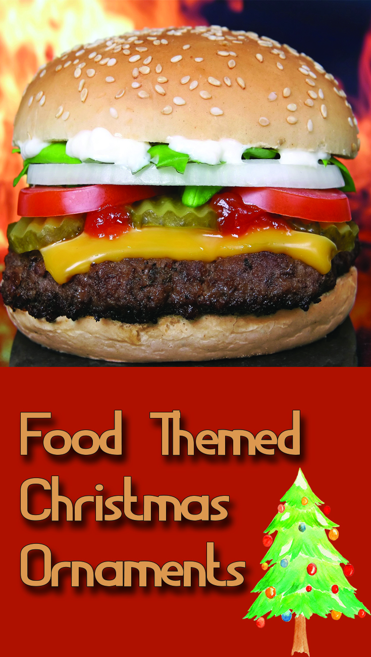 Food Themed Christmas Ornaments