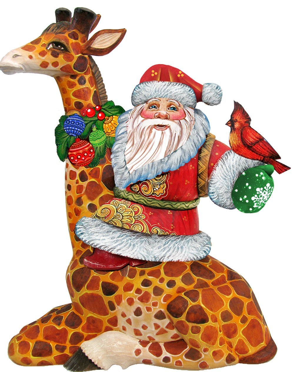 Giraffe Christmas Tree Ornaments
