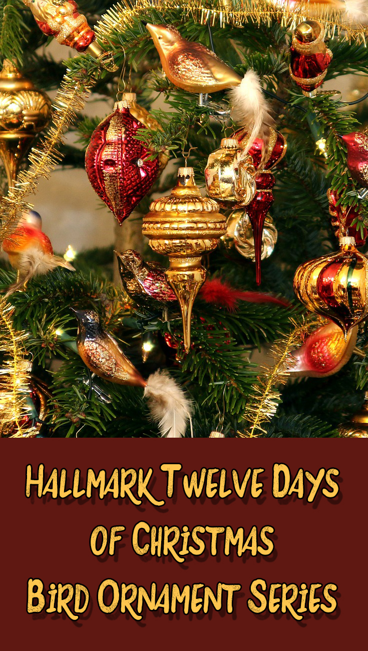 Hallmark Twelve Days of Christmas Bird Ornament Series