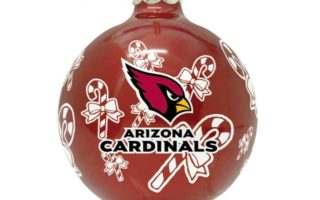 Arizona Cardinals Christmas Tree Ornaments