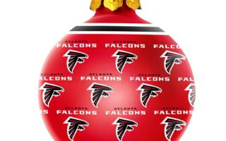 Atlanta Falcons Christmas Tree Ornaments