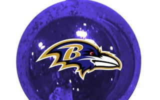Baltimore Ravens Christmas Ornaments