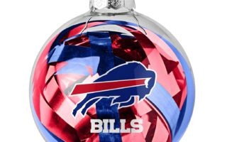Buffalo Bills Christmas Tree Ornaments