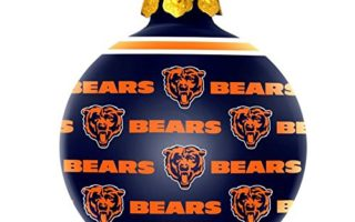 Chicago Bears Christmas Tree Ornaments