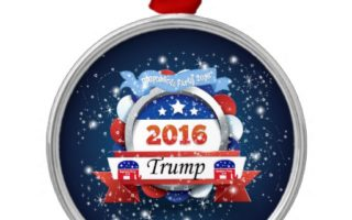 Donald Trump Christmas Ornaments