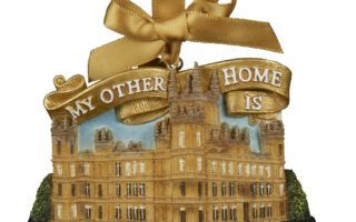 Downton Abbey Christmas Ornaments