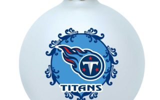 Tennessee Titans Christmas Tree Ornaments