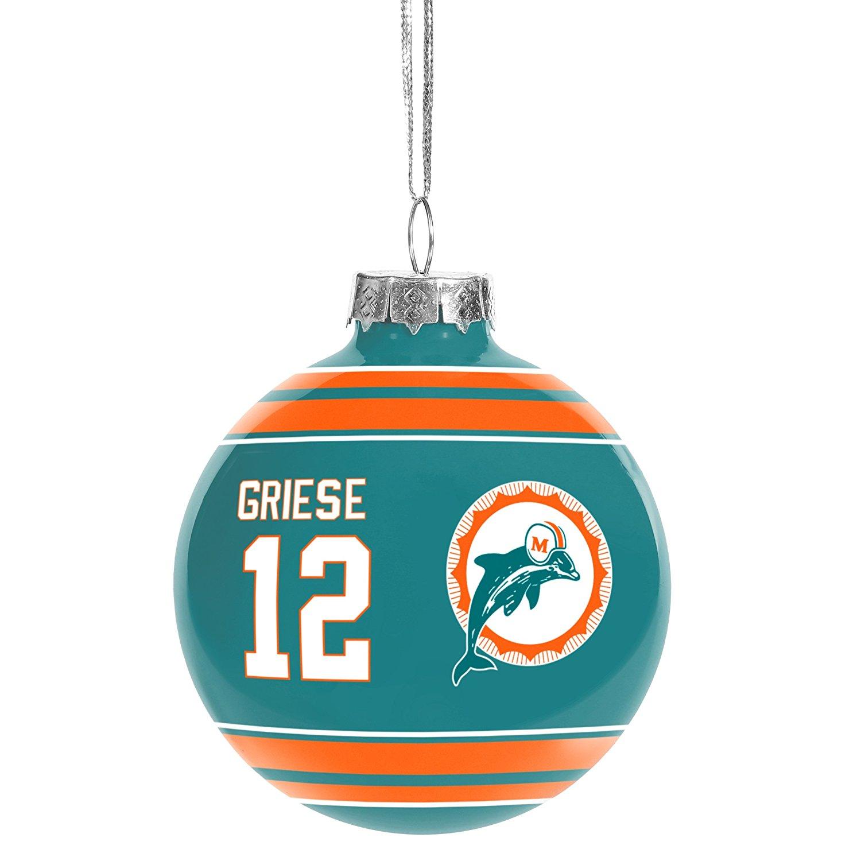 Miami Dolphins Christmas Tree Ornaments