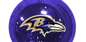 Baltimore Ravens Christmas Tree Ornaments