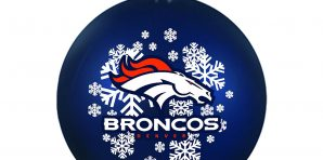 Denver Broncos Christmas Tree Ornaments