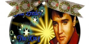 Elvis Presley Christmas Ornaments