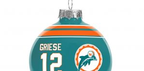 Miami Dolphins Christmas Tree Ornaments