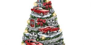 Mustang Christmas Ornaments