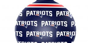 New England Patriots Christmas Tree Ornaments