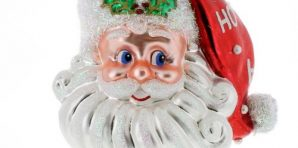 Christopher Radko Santa Ornaments