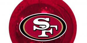 San Francisco 49ers Christmas Tree Ornaments